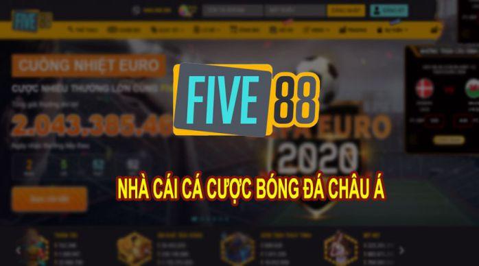 Five88 – Nhà cái cá cược bóng đá, casino Châu Á